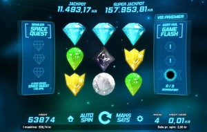 Space Gems spilleautomaten